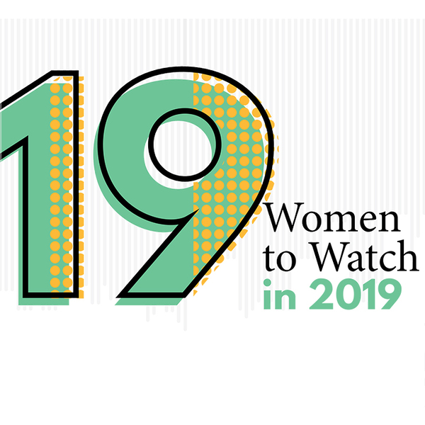 19 women to watch in 2019 logo