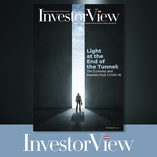 Full cover of the Q1 2021 InvestorView Magazine.