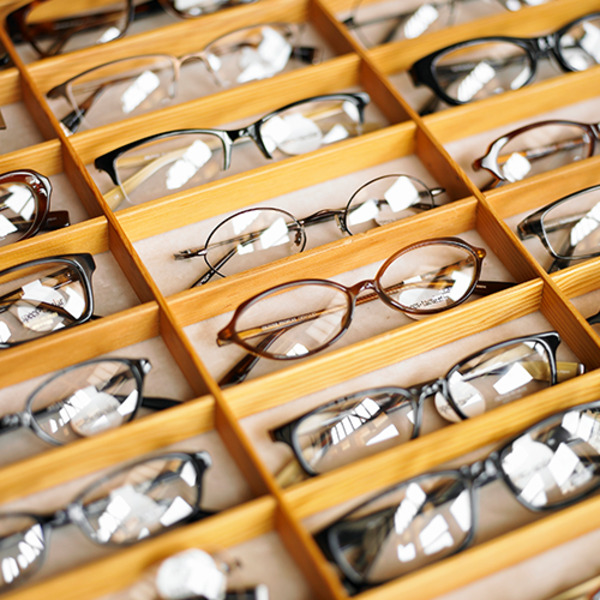 Drawer full with reading glasses